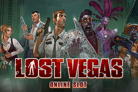 logo lost vegas microgaming spilleautomat