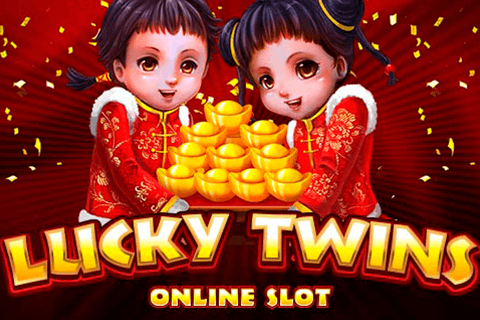 logo lucky twins microgaming spilleautomat