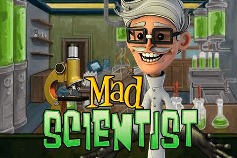 logo mad scientist betsoft spilleautomat