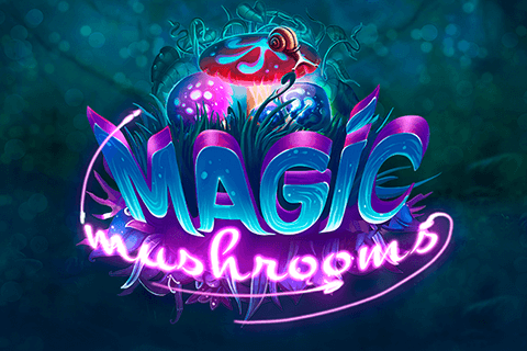 logo magic mushrooms yggdrasil spilleautomat