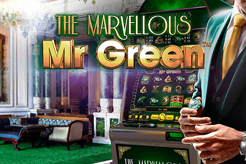 logo marvellous mr green netent spilleautomat