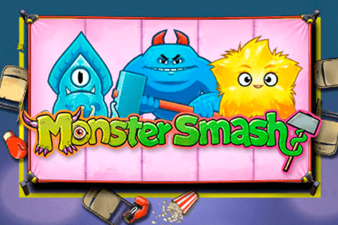 logo monster smash playn go spilleautomat