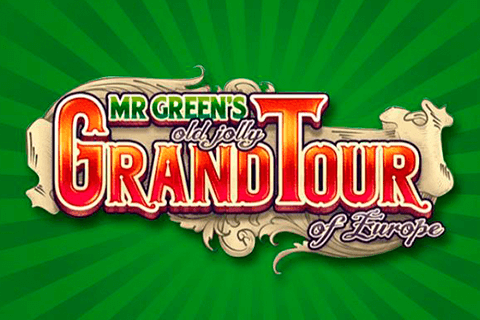 logo mr greens old jolly grand tour of europe netent spilleautomat