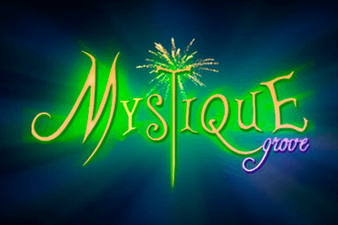 logo mystique grove microgaming spilleautomat