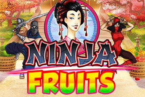 logo ninja fruits playn go spilleautomat