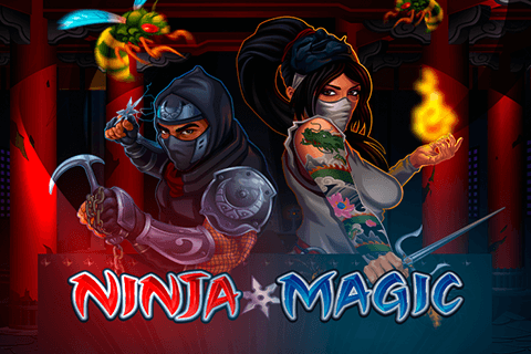 logo ninja magic microgaming spilleautomat