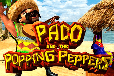 logo paco and the popping peppers betsoft spilleautomat