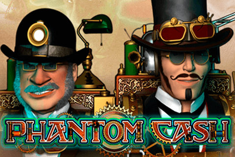 logo phantom cash microgaming spilleautomat