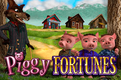 logo piggy fortunes microgaming spilleautomat