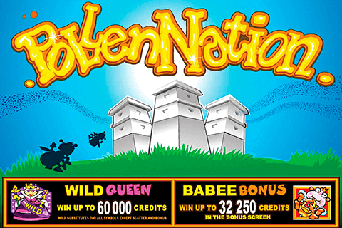 logo pollen nation microgaming spilleautomat