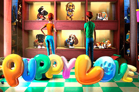 logo puppy love betsoft spilleautomat