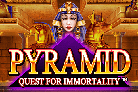 logo pyramid quest for immortality netent spilleautomat