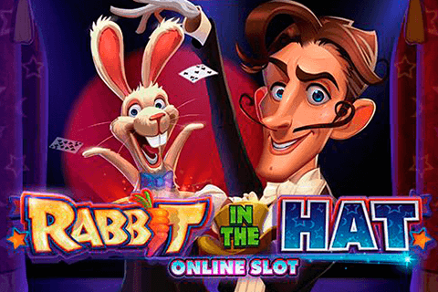 logo rabbit in the hat microgaming spilleautomat