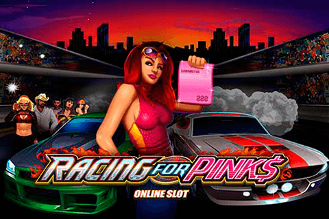 logo racing for pinks microgaming spilleautomat