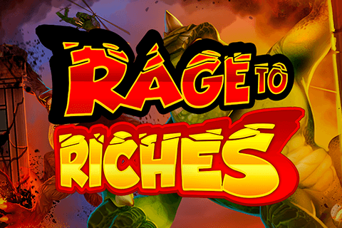 logo rage to riches playn go spilleautomat