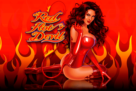logo red hot devil microgaming spilleautomat