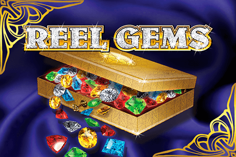 logo reel gems microgaming spilleautomat