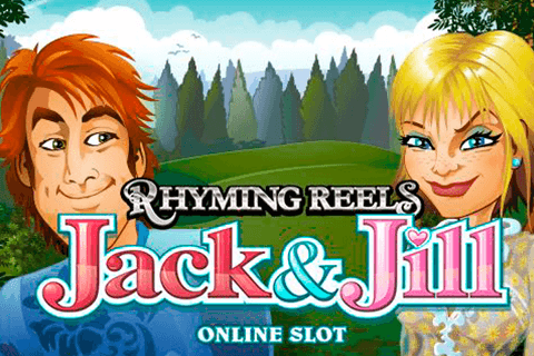 logo rhyming reels jack and jill microgaming spilleautomat