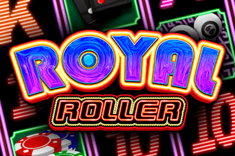 logo royal roller microgaming spilleautomat