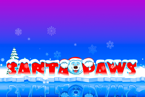 logo santa paws microgaming spilleautomat