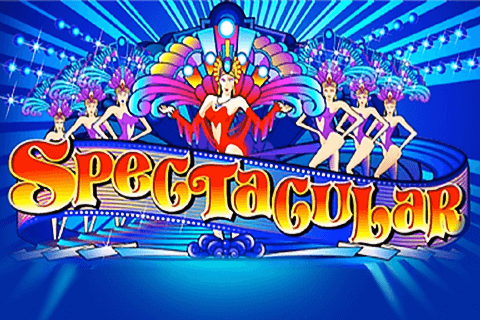 logo spectacular microgaming spilleautomat