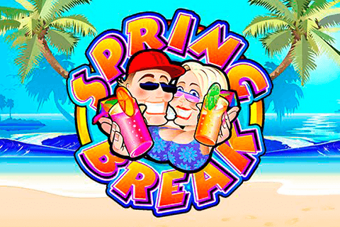 logo spring break microgaming spilleautomat