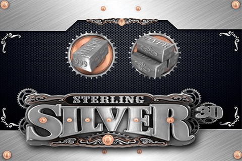 logo sterling silver 3d microgaming spilleautomat