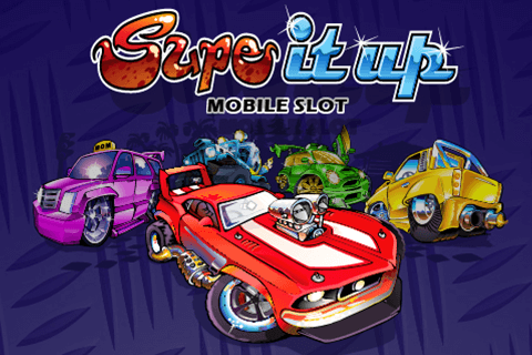 logo supe it up microgaming spilleautomat