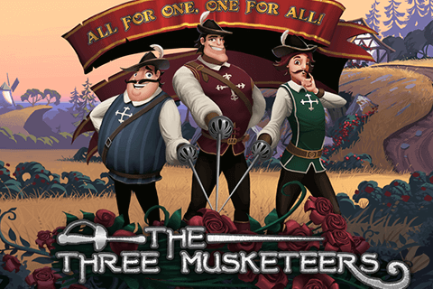 logo the three musketeers quickspin spilleautomat