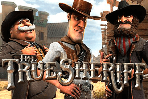 logo the true sheriff betsoft spilleautomat