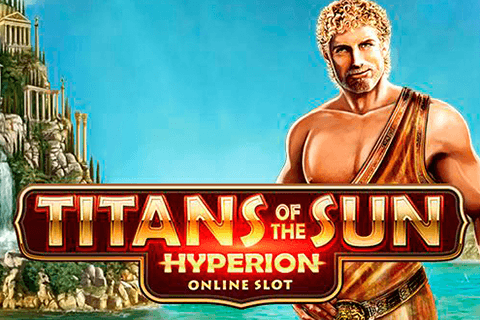 logo titans of the sun hyperion microgaming spilleautomat