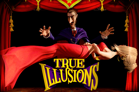 logo true illusions betsoft spilleautomat