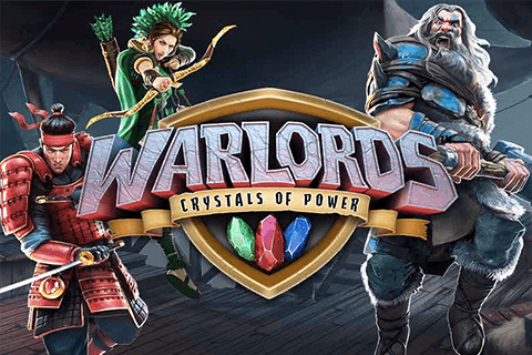 logo warlords crystals of power netent spilleautomat
