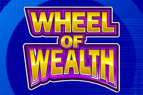 logo wheel of wealth microgaming spilleautomat
