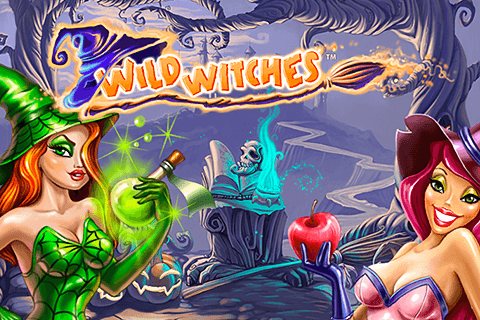 logo wild witches netent spilleautomat