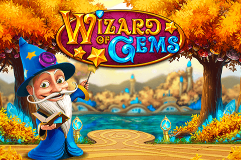 logo wizard of gems playn go spilleautomat