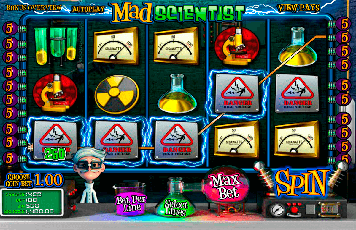 mad scientist betsoft automat pa nett