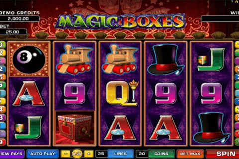 magic boxes microgaming automat pa nett
