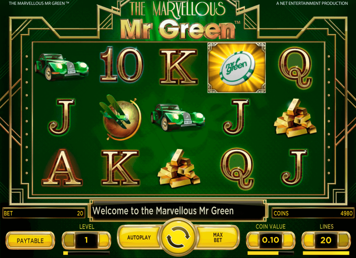 marvellous mr green netent automat pa nett