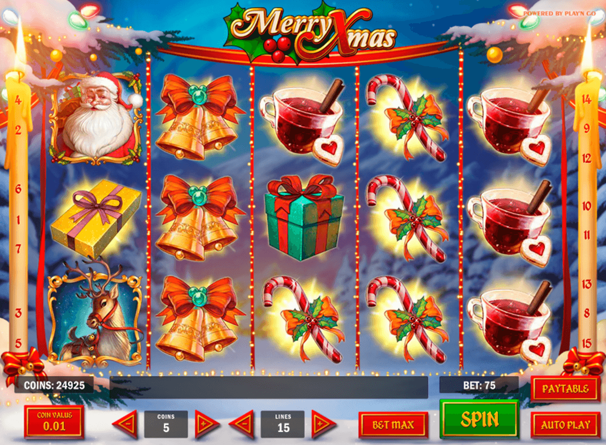 Spilleautomater merry xmas