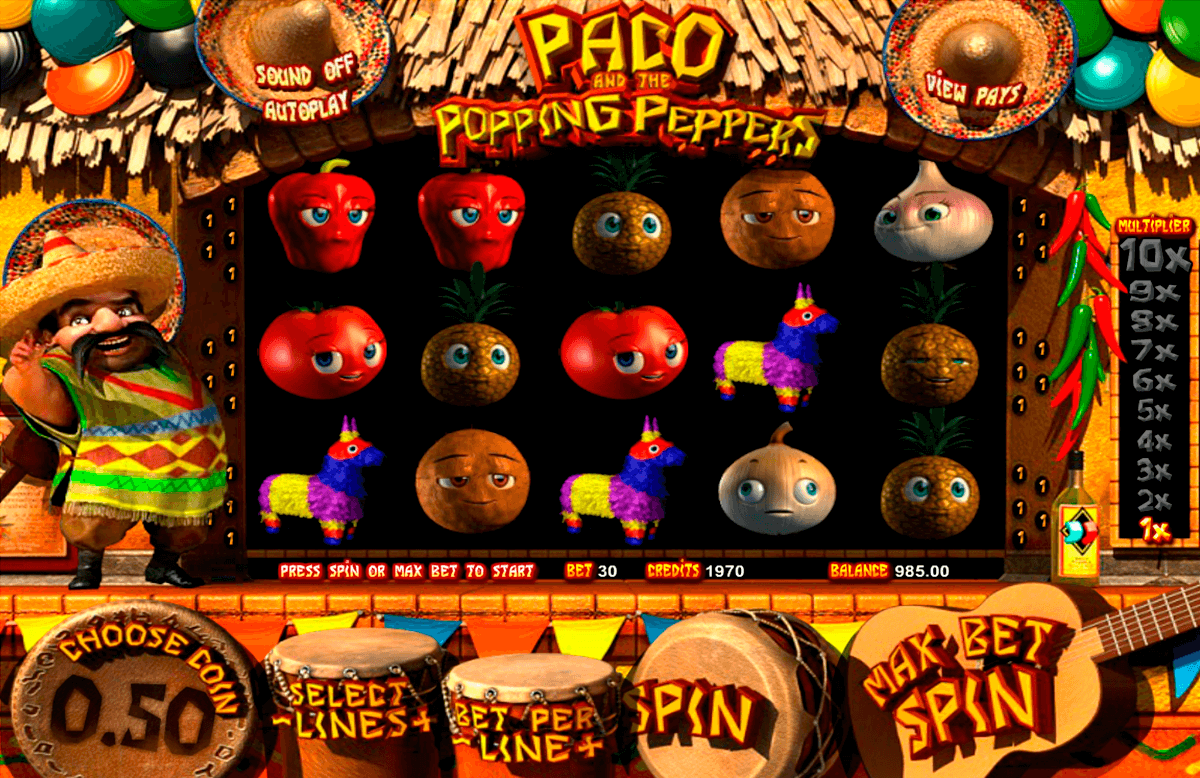 paco and the popping peppers betsoft automat pa nett