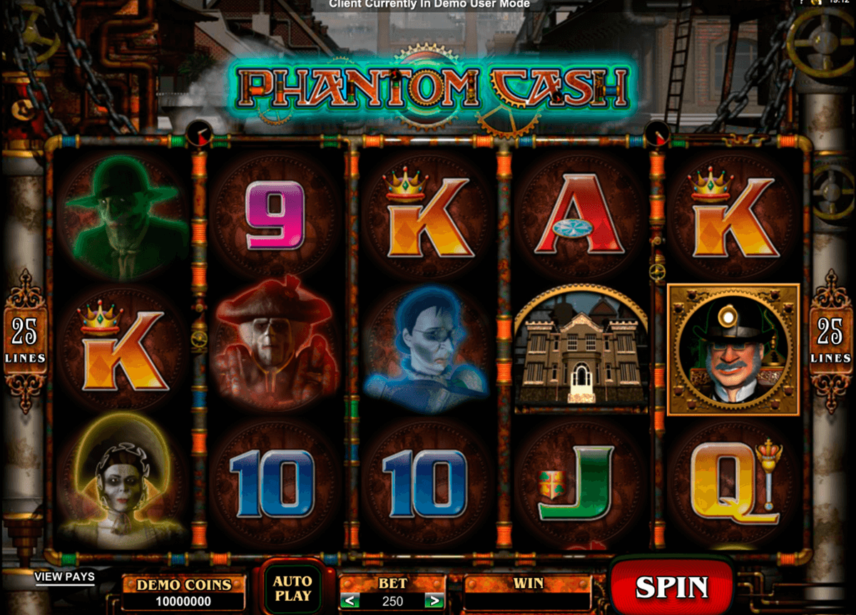 phantom cash microgaming automat pa nett