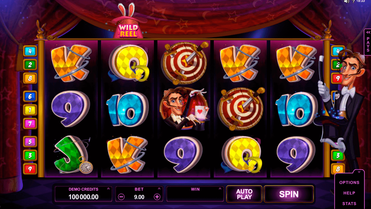 rabbit in the hat microgaming automat pa nett