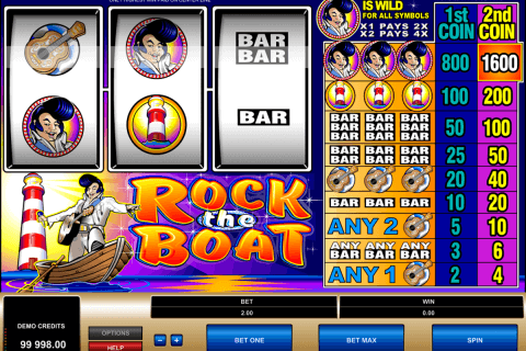 rock the boat microgaming automat pa nett