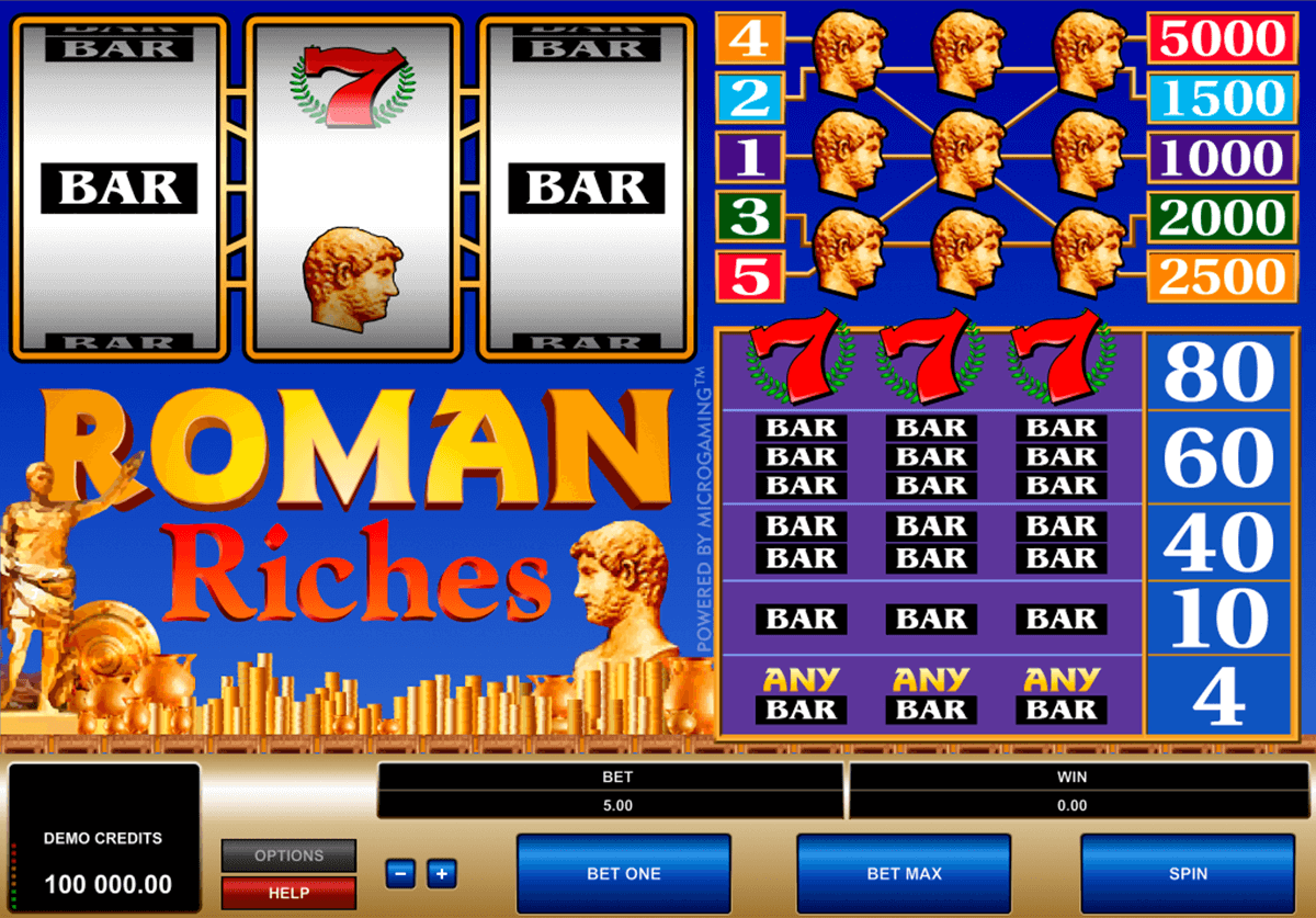 roman riches microgaming automat pa nett