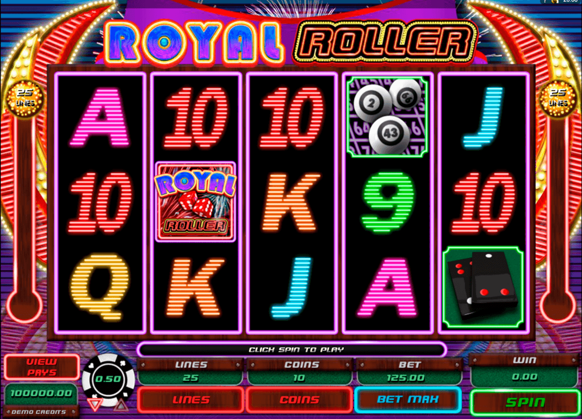 royal roller microgaming automat pa nett
