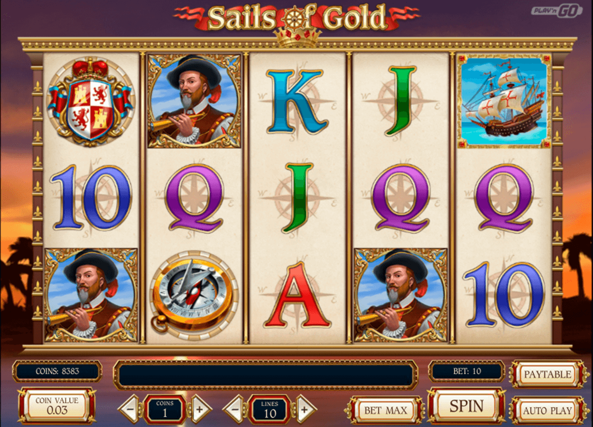 sails of gold playn go automat pa nett