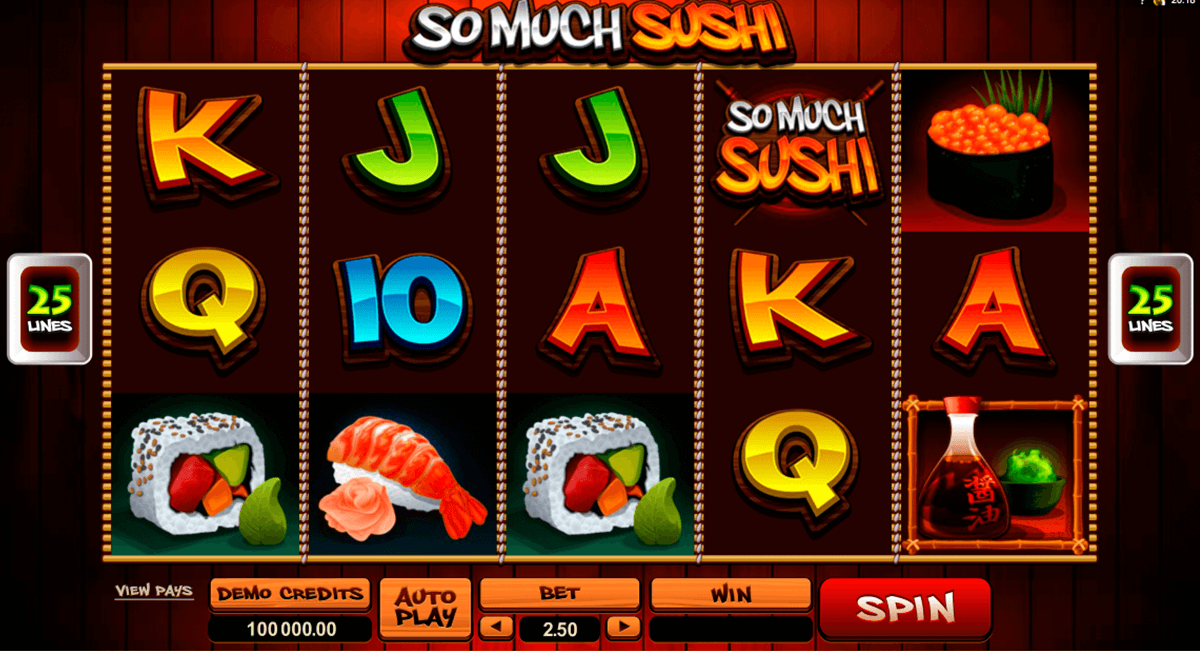 so much sushi microgaming automat pa nett