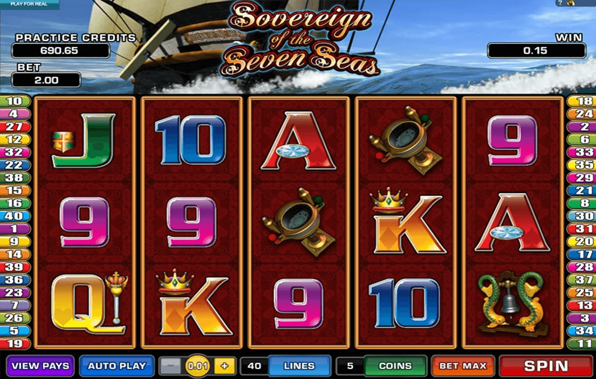 sovereign of the seven seas microgaming automat pa nett