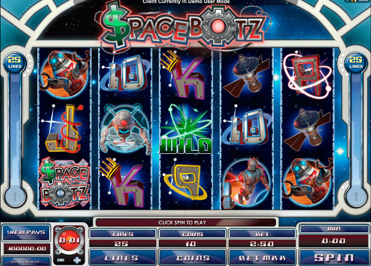 space botz microgaming automat pa nett